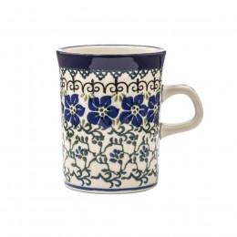 Mug Bunzlau Castle motif Wood Violets 15cl