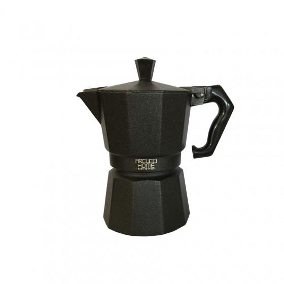 Cafetière Moka 3 tasses noire