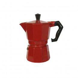 Cafetière Moka Alice 3T rouge