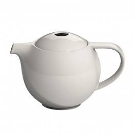 Théière ronde porcelaine Loveramics crème 0,9L