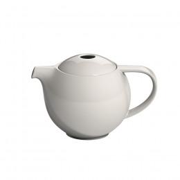 Théière ronde porcelaine Loveramics crème 0.6L