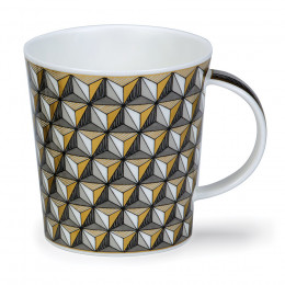 Mug Dunoon porcelaine fine Lomond Marrakech Triangle 32cl