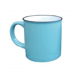 Grand Mug vintage bleu pastel 70cl