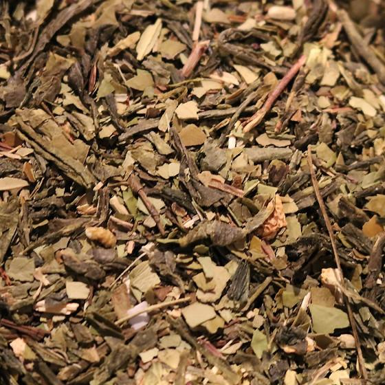 Thé vert maté aromatisé Détox vrac