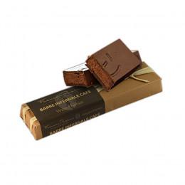 Barre infernale praliné au café enrobé de beurre de cacao 160g