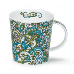Mug Dunoon porcelaine fine Lomond Kashmire Vert 32cl