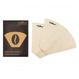 Filtre café réutilisable coton (x2)