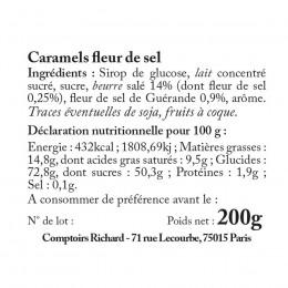 Caramels fondants enveloppés 200g
