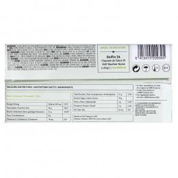 Tablette de chocolat au lait 38% arôme thé vert sencha 70g