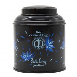 """Thé noir vrac aromatisé """"Earl Grey""""  boite collection laquée 100g"""
