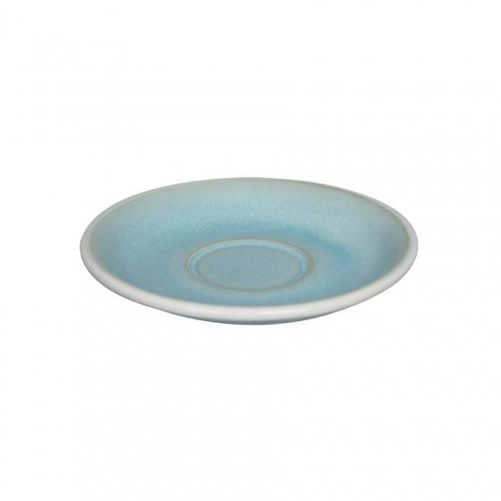 Soucoupe Capuccino Barista Egg bleu irisé 14.5CM