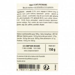 Pavés aux éclats de pistaches 150g