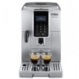 Robot café Delonghi Dinamica FEB 3575.S et 2 paquets de 250g de café en grains et 6 verres à café 9cl offerts