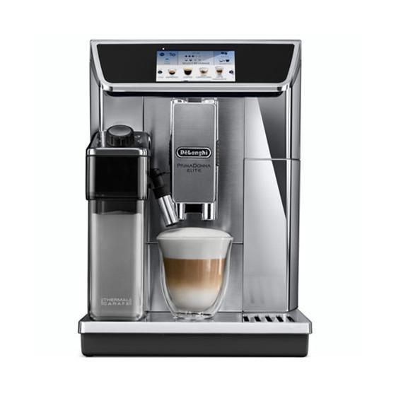 Robot café Delonghi Ecam 650.85.MS et 5 paquets de 250g de café en grains et 4 verres double parois Cafés Richard offerts
