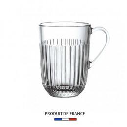 Mug en verre pressé 40cl