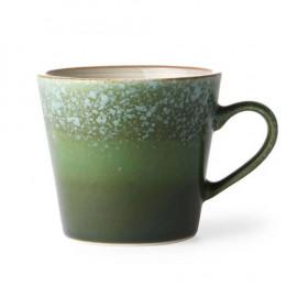 Tasse en grès Grass vert 18cl