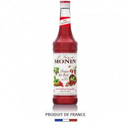 Sirop fraise des bois Monin 70cl