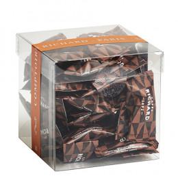 Amandes torréfiées et enrobées de chocolat noir 140g