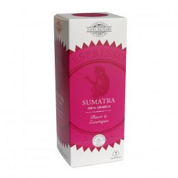 Étui de 25 dosettes ESE café pur arabica de Sumatra