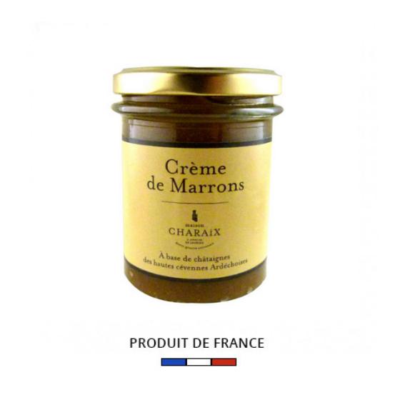 Crème de marrons de l'Ardèche Maison Charaix 245g