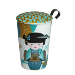Tisanière tea Eve new little Geisha Petrol Eigenart