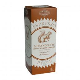 Étui de 25 dosettes ESE café arabica Moka aromatisé noisette