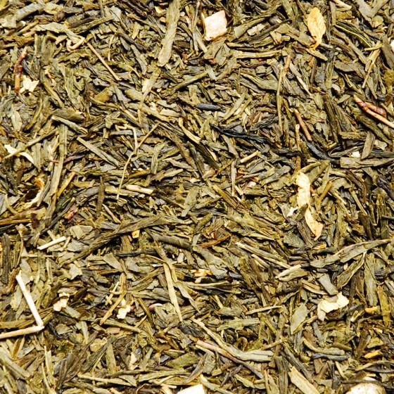 Thé vert aromatisé Rêve des Iles vrac