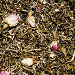 Thé blanc aromatisé Rose Litchi vrac