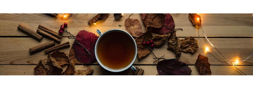 Nos thés d'automne